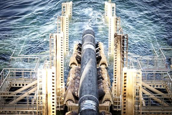 """Chỉ còn khoảng 6% trong tổng chiều dài 1.200km của đường ống """"Dòng chảy phương Bắc 2"""" đang dang dở"""