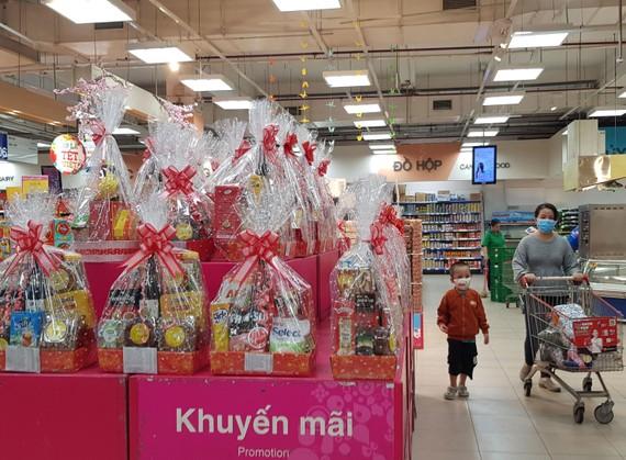Giỏ quà Tết tại siêu thị Co.opmart