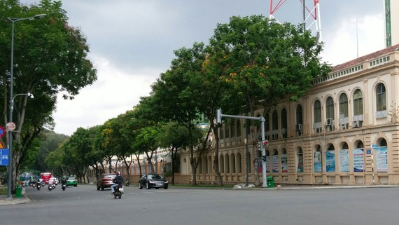 Đường Lê Duẩn (quận 1) khang trang, hiện đại hơn nhờ ngầm hóa dây điện và cáp viễn thông