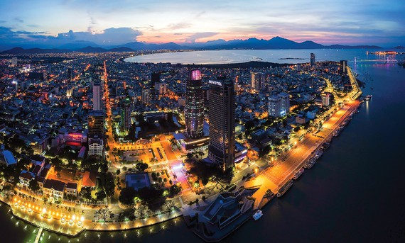 Đà Nẵng, một thành phố trẻ và năng động. Ảnh: NGUYỄN TRÌNH