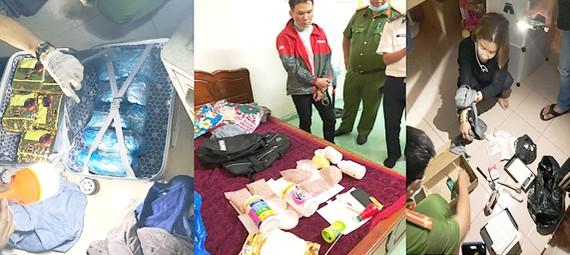 TPHCM: Bắt vụ buôn bán 16kg ma túy, 6.000 viên thuốc lắc