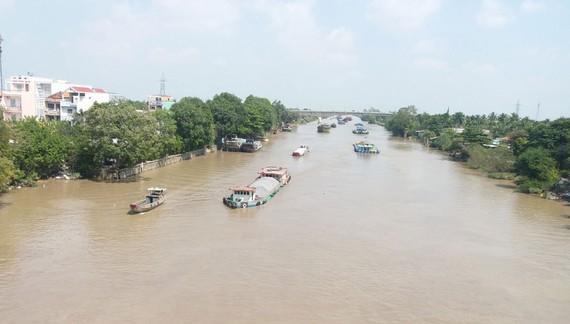 Kênh Chợ Gạo là tuyến đường giao thông thủy huyết mạch  của Đồng bằng sông Cửu Long