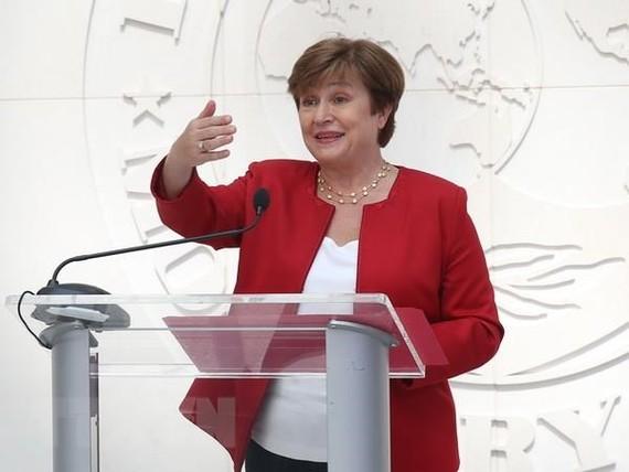 Tổng giám đốc Quỹ Tiền tệ quốc tế (IMF) Kristalina Georgieva. Nguồn: TTXVN