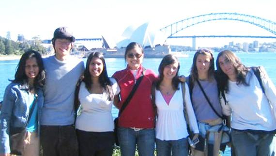 Sinh viên quốc tế tại Australia. Ảnh minh họa