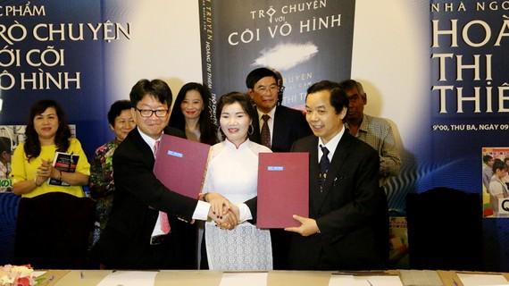 Tập đoàn Sanshin của Nhật Bản ký hợp đồng bản quyền