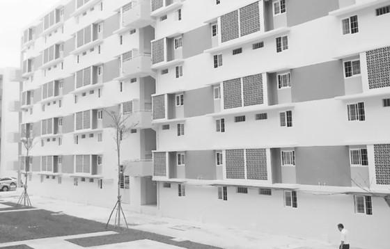 Vay mua nhà ở xã hội giữ nguyên lãi suất 4,8%/năm. Trong ảnh:  Khu nhà ở xã hội tại phường Định Hòa (tỉnh Bình Dương)
