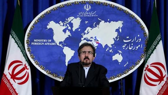 Người phát ngôn Bộ Ngoại giao nước này, ông Bahram Qassemi. Ảnh: IRNA