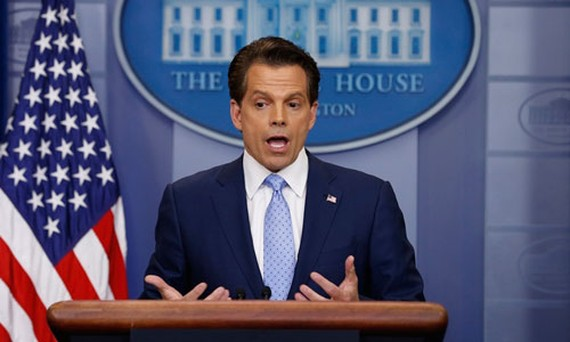 Ông Anthony Scaramucci. Ảnh: Reuters