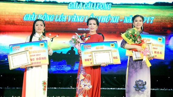 Võ Thị Phương Thúy đoạt HCV giải Bông lúa vàng 2017