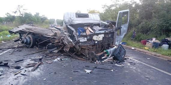 Hiện trường vụ tai nạn. Nguồn: correio24horas.com.br