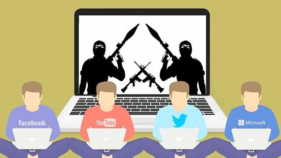 """Các """"đại gia"""" công nghệ Mỹ tham gia vào cuộc chiến chống khủng bố trên mạng"""