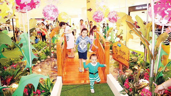 Đón xuân với nhiều hoạt động giải trí đậm chất  truyền thống tại SC VivoCity