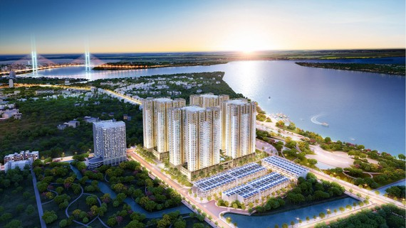 """Phối cảnh dự án """"Q7 Saigon Riverside Complex - Khu căn hộ sở hữu nhiều lợi thế đang được Hung Thinh Corp giới thiệu ra thị trường""""  """