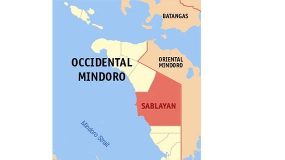 Thị trấn Sablayan, tỉnh Occidental Mindoro, Philippines - nơi xảy ra vụ tai nạn. Nguồn: newsinfo.inquirer.net