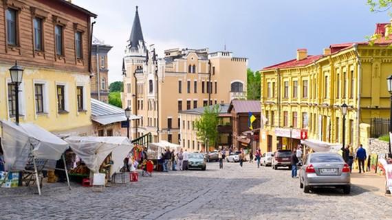 Một góc thủ đô Kiev