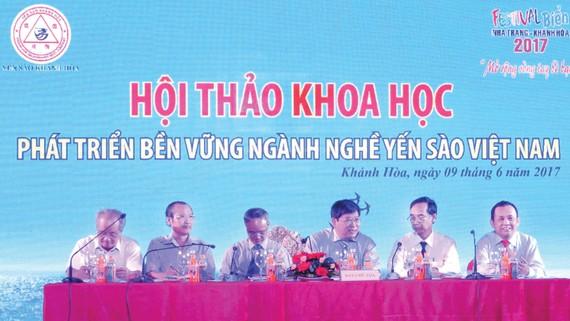 Hội thảo khoa học phát triển bền vững ngành nghề yến sào Việt Nam