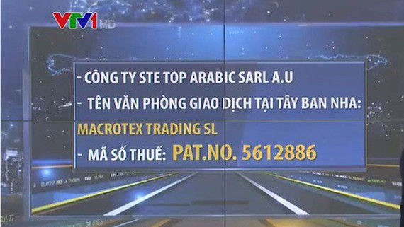 Cảnh báo khi giao dịch với một công ty ở Marocco