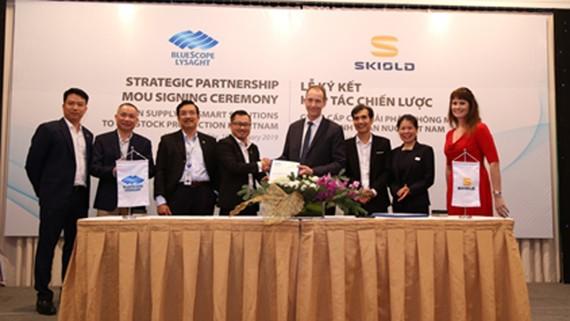 NS BlueScope Lysaght hợp tác với SKIOLD phát triển các giải pháp thông minh cho ngành chăn nuôi