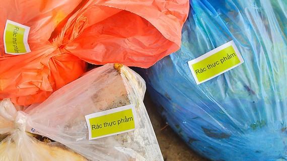 Rác thải được phân loại tại nguồn
