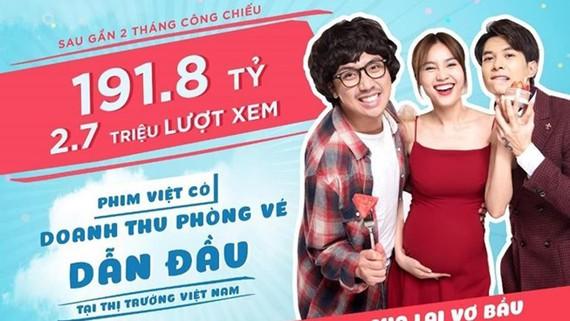 """Cua lại vợ bầu"" dẫn đầu doanh thu tại Việt Nam"