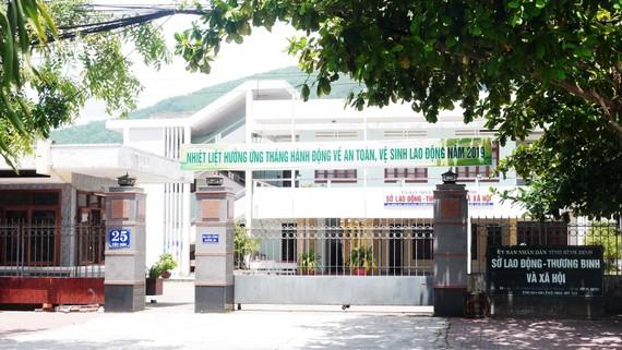 Sở LĐ-TB-XH tỉnh Bình Định