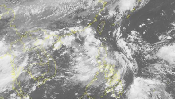 Vị trí và đường đi của áp thấp nhiệt đới. Ảnh: TTDBKTTVTƯ