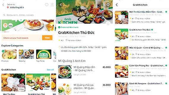 GrabKitchen ra mắt tại TPHCM