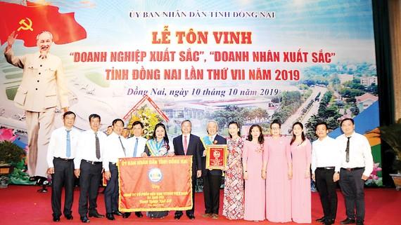 Vedan Việt Nam nhận bằng khen Doanh nghiệp xuất sắc