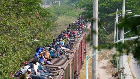 Người di cư tại biên giới Mexico trước khi tìm đường sang Mỹ