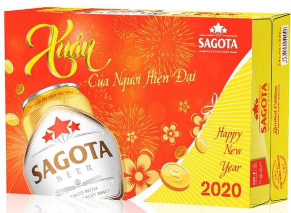 Bia Sagota ra mắt phiên bản Tết Canh Tý – 2020