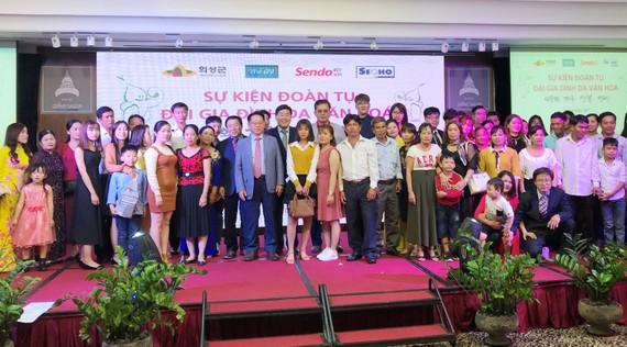 Nhiều gia đình cô dâu Việt ở Uiseong (Hàn Quốc) được đài thọ chi phí về thăm quê hương