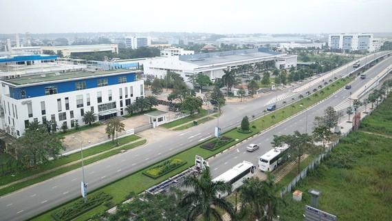 Một góc Khu Công nghệ cao TPHCM