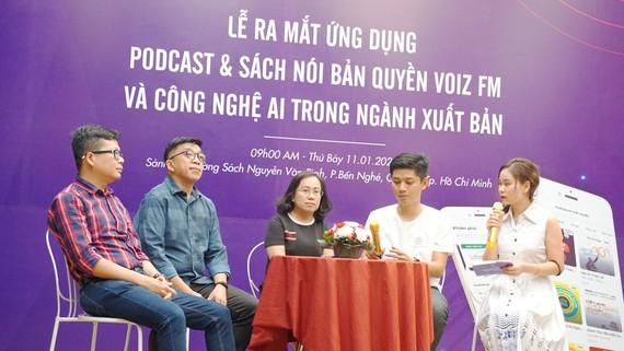 Dù mới chào sân, nhưng ứng dụng sách nói Voiz FM đang nhận được sự quan tâm và hợp tác từ nhiều đơn vị xuất bản