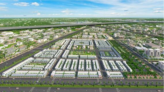 Phối cảnh tổng thể khu đô thị Century City ngay cửa ngõ kết nối của sân bay quốc tế Long Thành