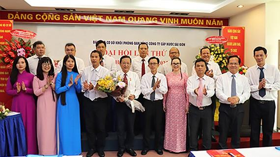 Ban chấp hành Đảng bộ cơ sở Khối phòng ban nhiệm kỳ 2020-2025 ra mắt đại hội