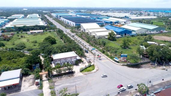 Khu công nghiệp Tân Kim ở huyện Cần Giuộc lấp đầy trên 87% diện tích