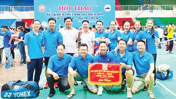 Xổ số kiến thiết Hậu Giang tham dự Hội thao xổ số kiến thiết khu vực miền Nam lần thứ IX - năm 2020 tại tỉnh Tây Ninh