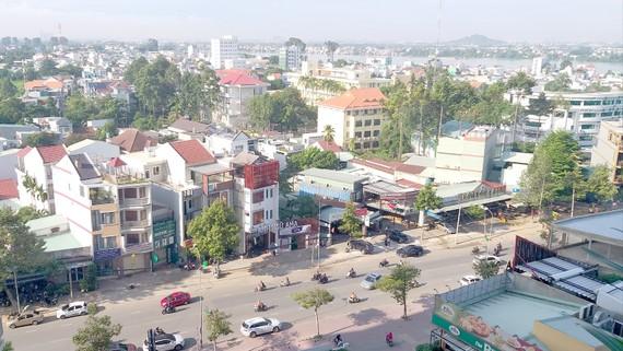 Một góc trung tâm TP Biên Hòa