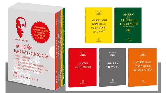 Ra mắt bộ sách Hồ Chí Minh - Tác phẩm bảo vật quốc gia