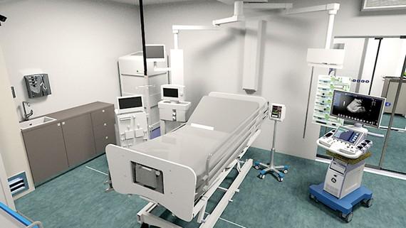Siemens và Toutenkamion chế tạo buồng điều trị tích cực di động cho bệnh viện