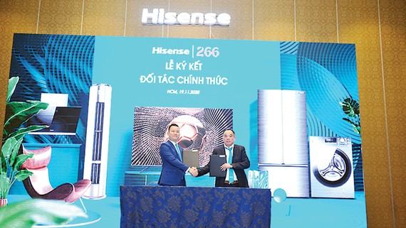 Thương hiệu toàn cầu về công nghệ, điện máy Hisense có mặt tại Việt Nam