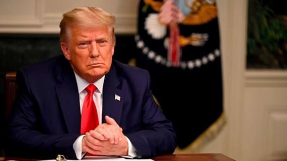 Tổng thống Donald Trump nêu điều kiện rời Nhà Trắng