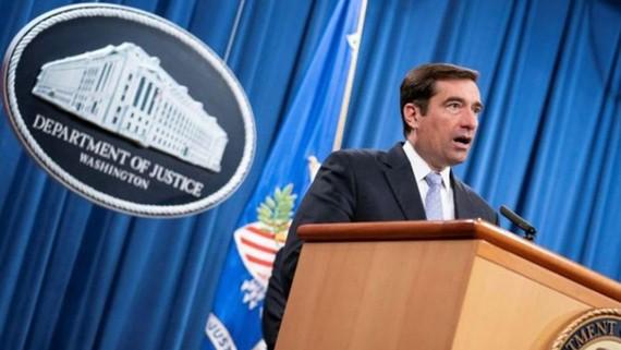 Ông John Demers - Giám đốc Cục An ninh Quốc gia thuộc Bộ Tư pháp Mỹ . Ảnh: REUTERS