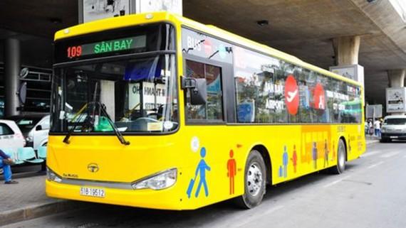 Bố trí vị trí xe buýt đón khách ở sân bay Tân Sơn Nhất