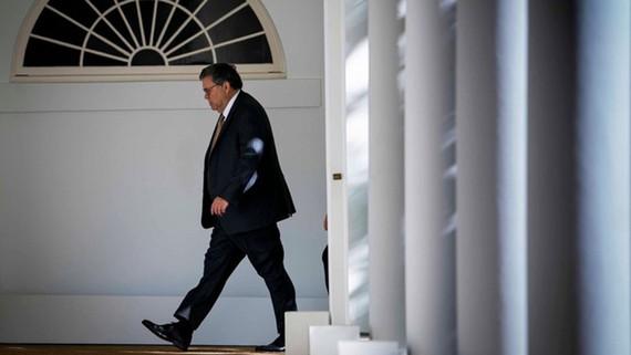 Bộ trưởng Tư pháp Mỹ William Barr. Ảnh: AP
