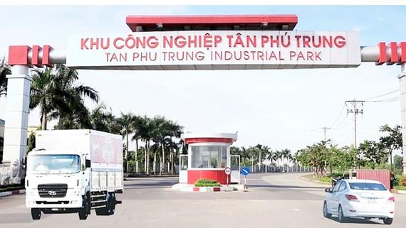 Một góc Khu công nghiệp Tân Phú Trung, huyện Củ Chi, TPHCM. Ảnh: Huy Phan
