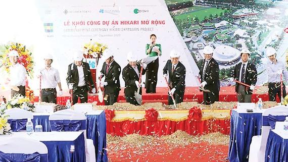 Hòa Bình khởi công dự án Hikari mở rộng tại Bình Dương