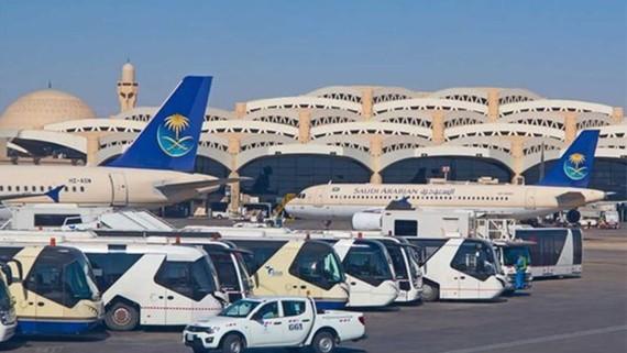 Sân bay tại Riyadh, Saudi Arabia. Nguồn: Shutterstock
