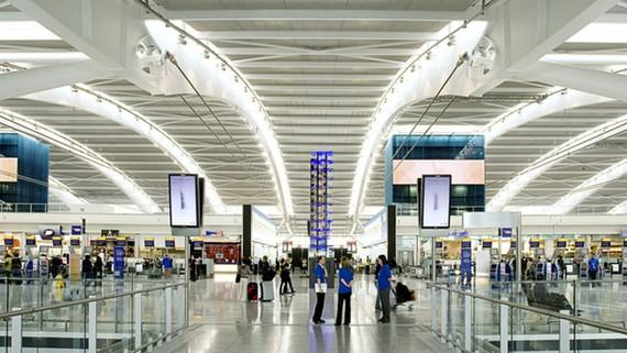 Sân bay Heathrow, Anh. Ảnh: Arup