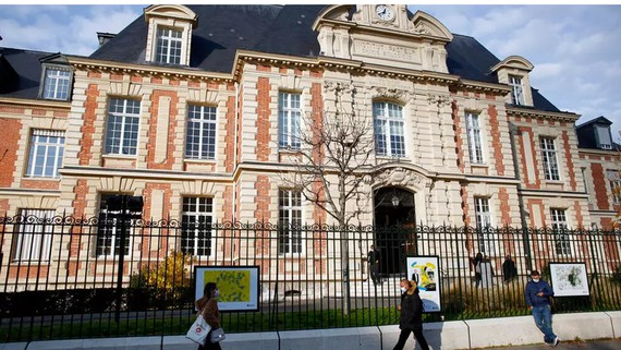 Viện Pasteur tại Paris. Ảnh: AP